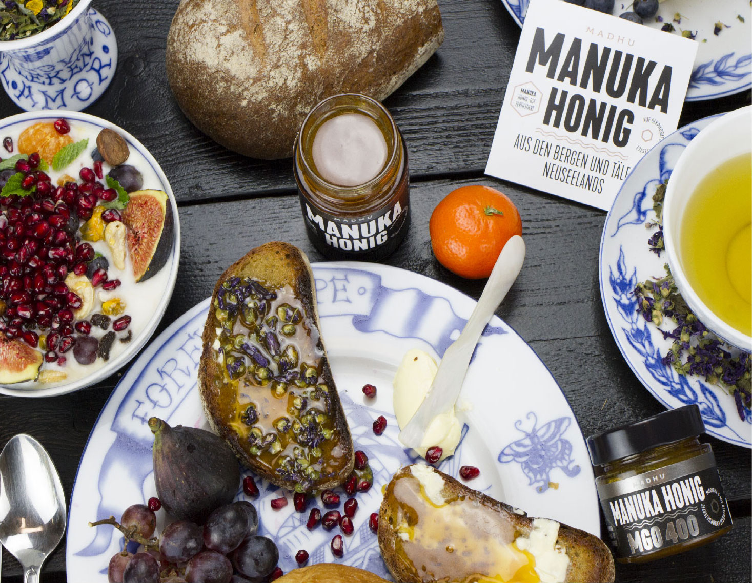 Frühstück mit Manuka Honig