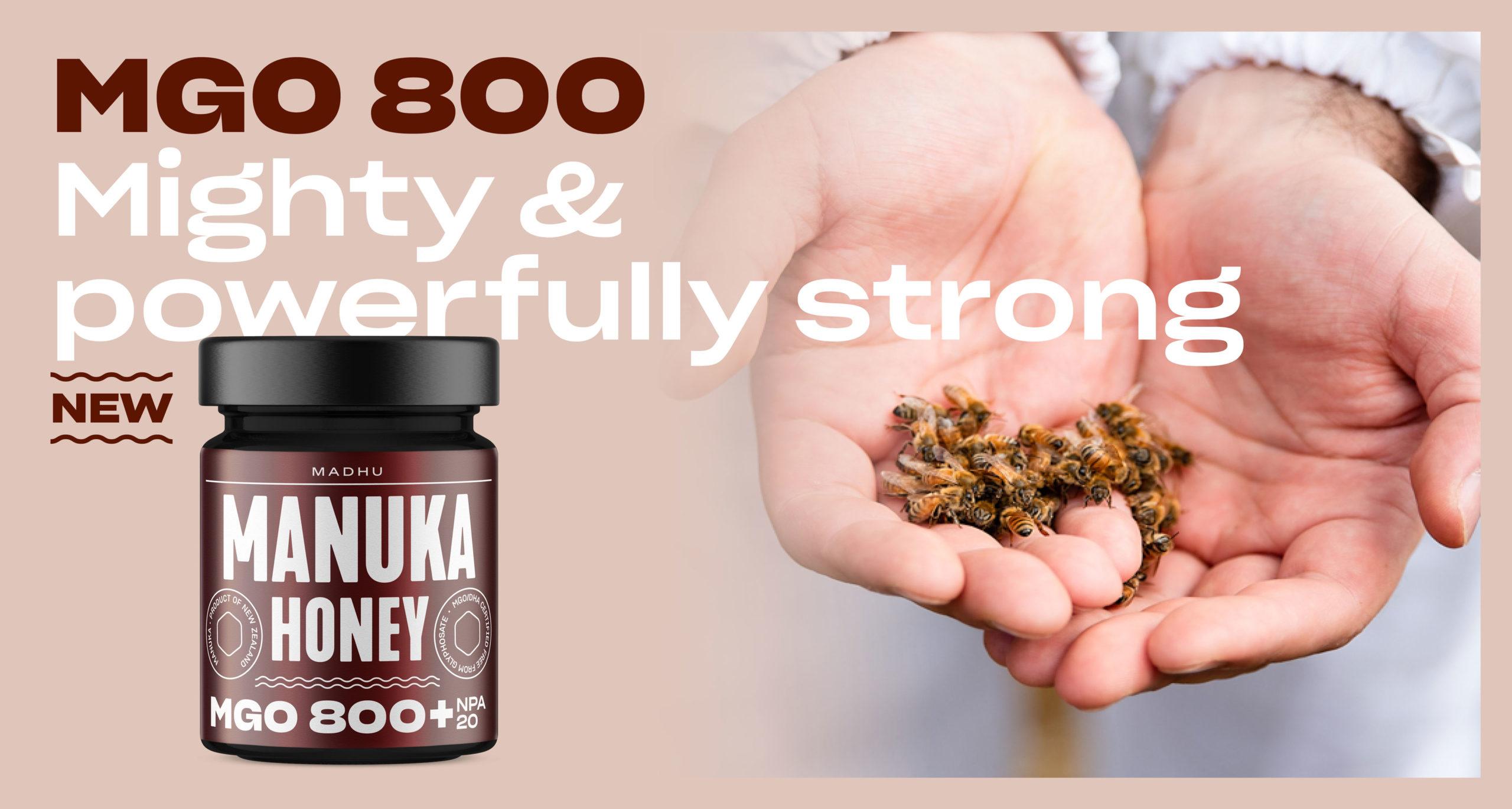 Manuka Honey MGO 800