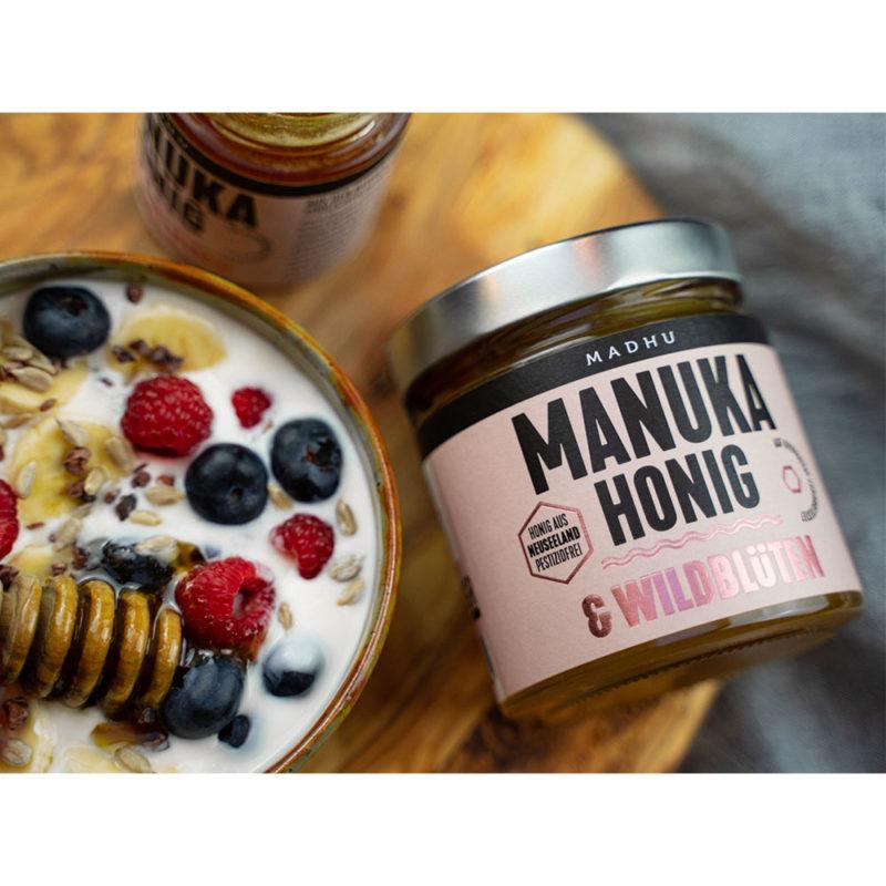 Manuka-Honig & Wildblüten
