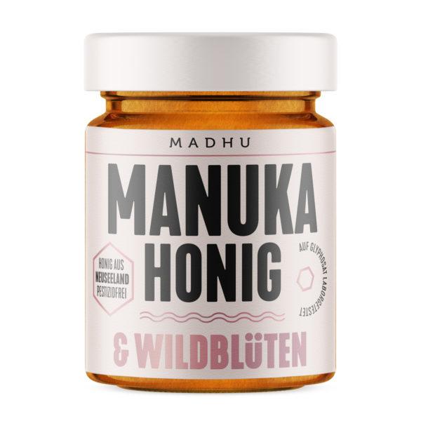 Manuka Honig und Wildblüten