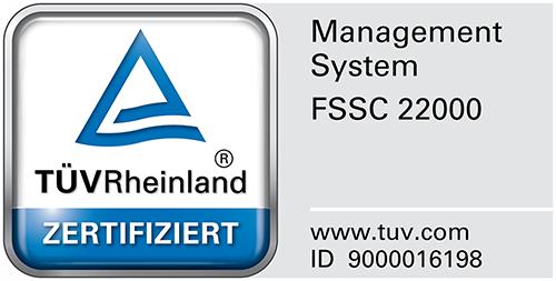 TÜV Rheinland - Zertifiziert - Siegel